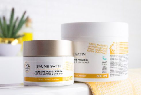 Le Baume Satin, en pots de 100 et 500 ml
